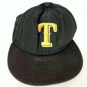 Texas Rangers New Era 59Fifty Black & Yellow Hat